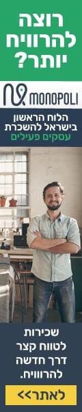 הלוח הראשון בישראל להשכרת עסקים פעילים